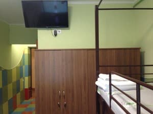 Hotels . Hotel Bed in Mixed Dormitory quadruple room .