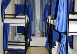 Hotels . Hotel Bed in Male Dormitory 6-bed room 613.