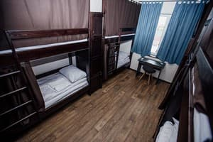 Hotels . Hotel Bed in Male Dormitory 8-bed room .