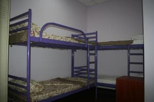 Hotels . Hotel 6-bedded male dormitory room.