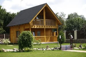 Hotels . Hotel Two-level wooden cottage with sauna.