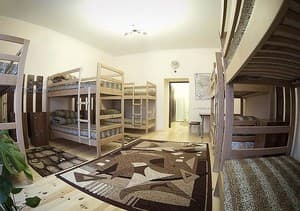 Hotels . Hotel 10-bedded mixed dormitory room (№2).