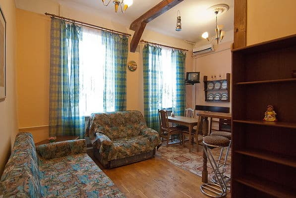 Apartment Apartment Two-Room Apartment on Mala Zhytomyrska Street, 3, Kyiv: photo, prices, reviews