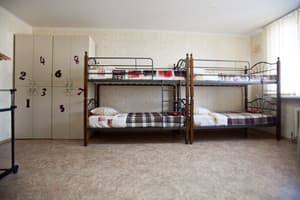 Hotels . Hotel Bed in Mixed Dormitory 10-bed room 10-bedded mixed dormitory room.