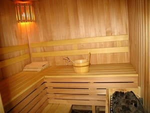Hotels . Hotel Superior room with sauna .
