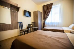 Hotels . Hotel 4-bedded standard room.