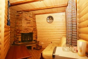 Hotels . Hotel Junior Suite with fireplace (cottage №1).