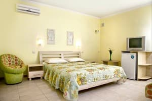 Hotels . Hotel One-room for 3-4 people (№1).