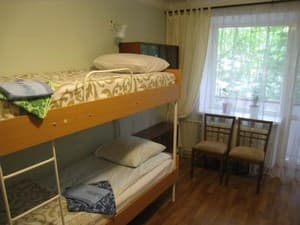Hotels . Hotel 4-bedded male dormitory room.