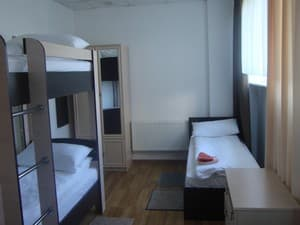 Hotels . Hotel 6-bedded room.