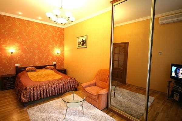 Apartment Apartment One-room Apartment on Lesi Ukrainky Str, 43, fl. 11a, Lviv: photo, prices, reviews