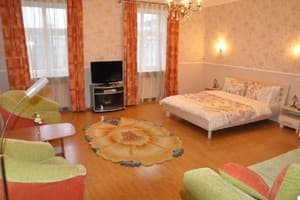 Hotels Lviv. Hotel Apartment One-room Apartment on Rynok Sq, 34, fl.7