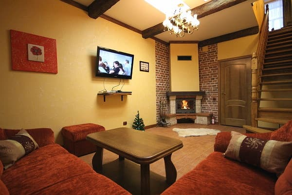 Apartment Apartment Two-room Apartment on Olhy Kobylianskoi Str, 14, fl.1, Lviv: photo, prices, reviews