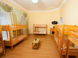 Hotels . Hotel Multiple bedded male dormitory room.