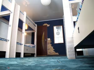 Hotels . Hotel Bed in Mixed Dormitory 8-bed room 8-bedded mixed dormitory room.