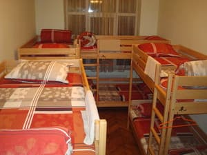 Hotels . Hotel 10-bedded room.
