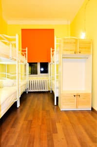 Hotels . Hotel 6-bedded mixed dormitory room (№1).