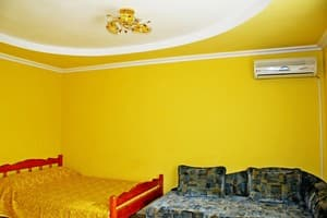 Hotels . Hotel Standard for 4 people №1 euro yard ground floor.