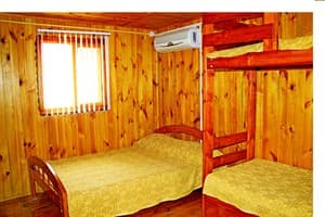 Hotels . Hotel Wooden cottage № 4,5,6 euro yard.