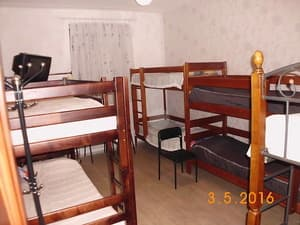 Hotels . Hotel 8-bedded mixed dormitory room (upper beds).