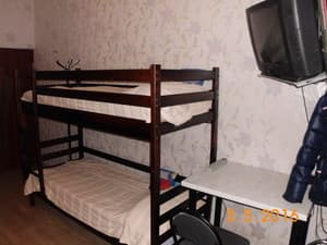 Hotels . Hotel 8-bedded mixed dormitory room (lower beds).