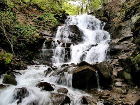 Пилипец. Водопад Шипот