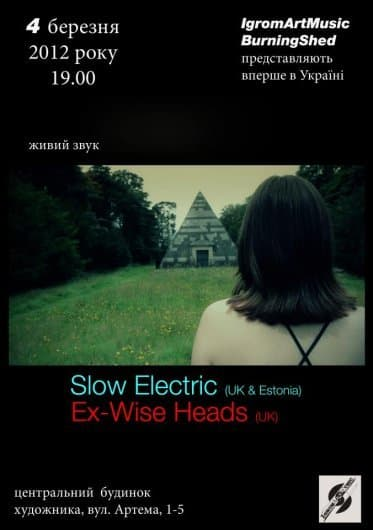 "Концерт групп ""Wise Heads"" и ""Slow Electric"""