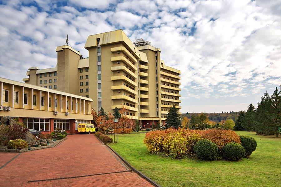 Санатории Украины: ТОП-10 лучших здравниц