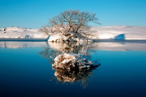 Свитязь зимой