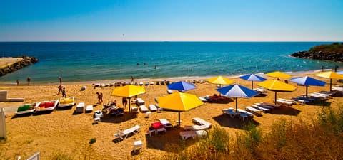 Пляжи в Коблево