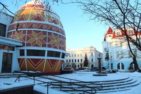 Коломыя. Музей писанок