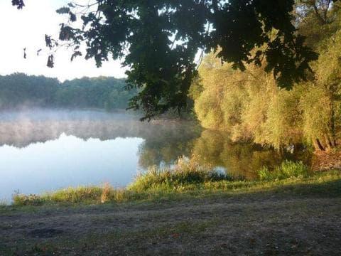Чорне озеро біля Кропивницького