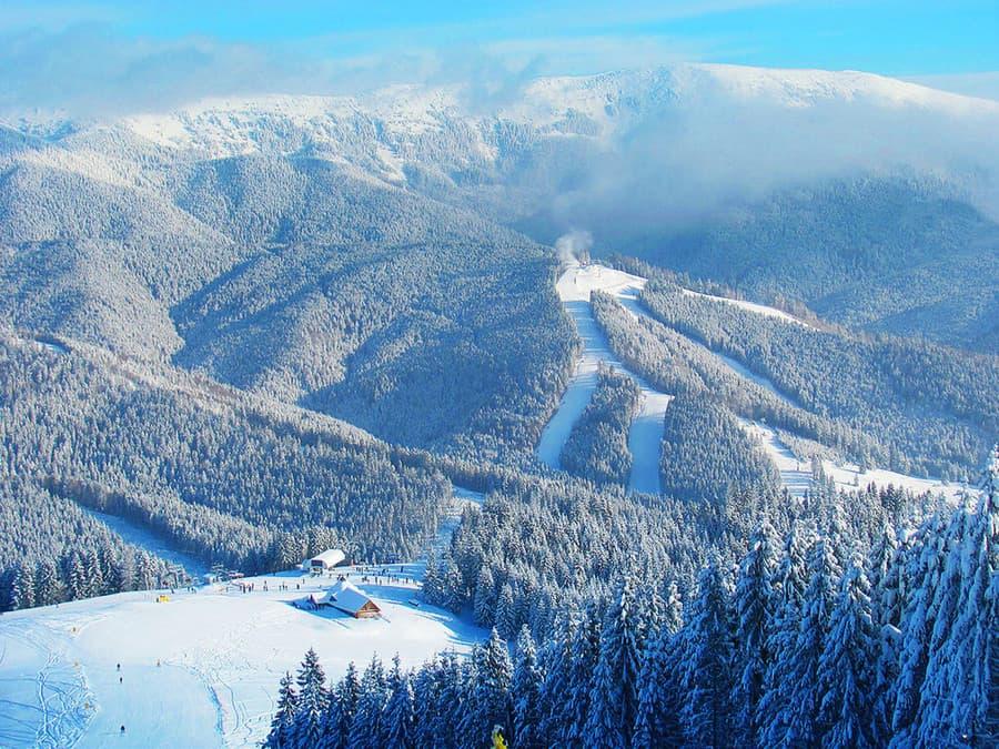 Карпаты горнолыжный курорт Буковель Славск Изки Плай Драгобрат и другие в Украине Цены отзывы фото