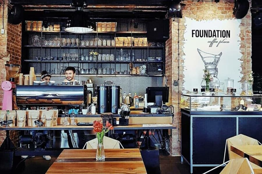 Кафе Foundation Coffee Place
